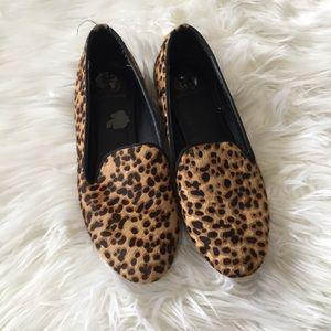 Kelsi Dagger Leopard Loafers